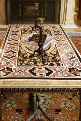 Restored antique pietre dure table