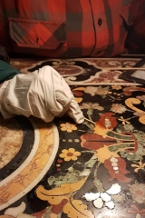 WIP antique pietre dure table